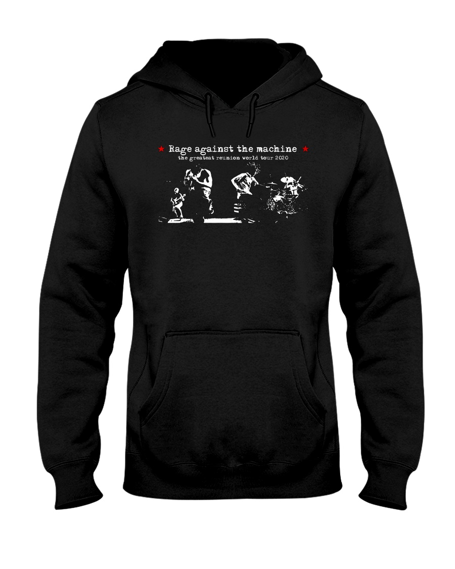 RAGE AGAINST THE MACHINE TOUR 2020 T Shirt Hooded Sweatshirt