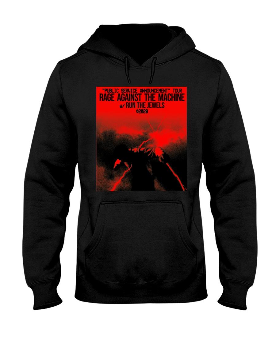 RAGE AGAINST THE MACHINE TOUR 2020 Shirt Hooded Sweatshirt