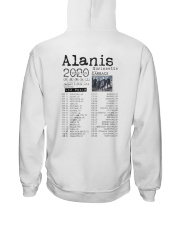 Alanis Morissette Tour 2020 Shirt Hooded Sweatshirt back