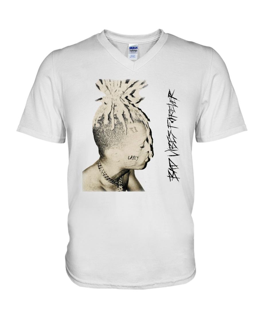 Bad Vibes Forever XXXTENTACION Shirts V-Neck T-Shirt