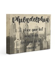 KT0001 Philadelphia A Place Your Feet May Leave Gallery Wrapped Canvas Prints tile