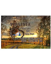 Virginia A Place Your Feet May Leave 17x11 Poster front
