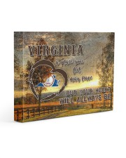 Virginia A Place Your Feet May Leave Gallery Wrapped Canvas Prints tile
