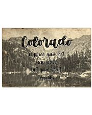 KT0001 Colorado A Place Your Feet May Leave 17x11 Poster front