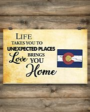 Colorado Love Brings You Home MRPT0305 17x11 Poster poster-landscape-17x11-lifestyle-14