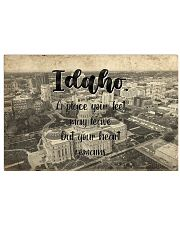 KT0001 Idaho A Place Your Feet May Leave 17x11 Poster front
