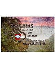 Arkansas A Place Your Feet May Leave 17x11 Poster front