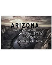 Arizona That Place Forever In Your Heart 17x11 Poster front