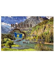 Montana A Place Your Feet May Leave 17x11 Poster front