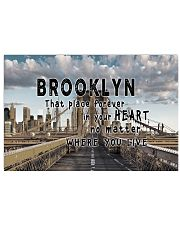 Brooklyn That Place Forever In Your Heart 17x11 Poster front
