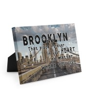 Brooklyn That Place Forever In Your Heart Easel-Back Gallery Wrapped Canvas tile