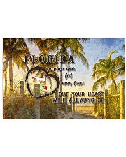 Florida A Place Your Feet May Leave 17x11 Poster front