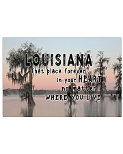 Louisiana That Place Forever In Your Heart 17x11 Poster front