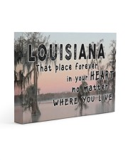 Louisiana That Place Forever In Your Heart Gallery Wrapped Canvas Prints tile