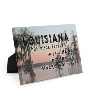 Louisiana That Place Forever In Your Heart Easel-Back Gallery Wrapped Canvas tile