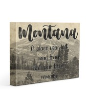 KT0001 Montana A Place Your Feet May Leave Gallery Wrapped Canvas Prints tile