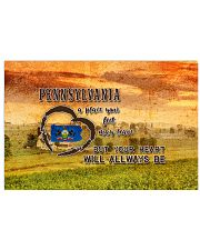 Pennsylvania A Place Your Feet May Leave 17x11 Poster front