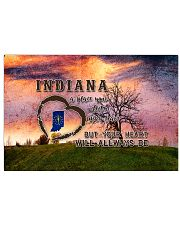 Indiana A Place Your Feet May Leave 17x11 Poster front