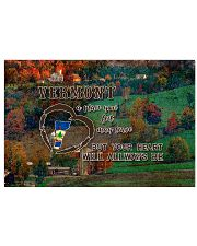 Vermont A Place Your Feet May Leave 17x11 Poster front