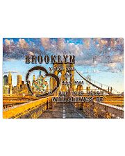Brooklyn A Place Your Feet May Leave 17x11 Poster front