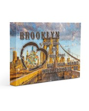 Brooklyn A Place Your Feet May Leave Gallery Wrapped Canvas Prints tile