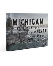 Michigan That Place Forever In Your Heart Gallery Wrapped Canvas Prints tile