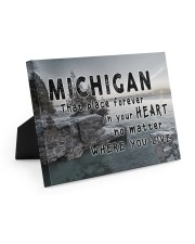 Michigan That Place Forever In Your Heart Easel-Back Gallery Wrapped Canvas tile