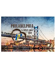 Philadelphia A Place Your Feet May Leave 17x11 Poster front