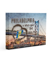 Philadelphia A Place Your Feet May Leave Gallery Wrapped Canvas Prints tile