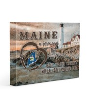 Maine A Place Your Feet May Leave Gallery Wrapped Canvas Prints tile