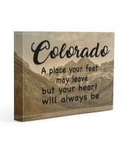 Colorado A Place Your Feet May Leave Gallery Wrapped Canvas Prints tile