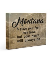 Montana A Place Your Feet May Leave Gallery Wrapped Canvas Prints tile