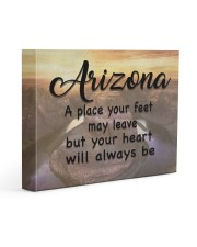 Arizona A Place Your Feet May Leave Gallery Wrapped Canvas Prints tile