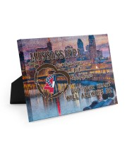 Mississippi A Place Your Feet May Leave Easel-Back Gallery Wrapped Canvas tile