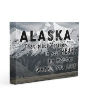 Alaska That Place Forever In Your Heart Gallery Wrapped Canvas Prints tile