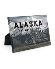 Alaska That Place Forever In Your Heart Easel-Back Gallery Wrapped Canvas tile