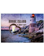 Rhode Island A Place Your Feet May Leave 17x11 Poster front