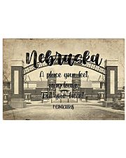KT0001 Nebraska A Place Your Feet May Leave 17x11 Poster front