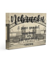 KT0001 Nebraska A Place Your Feet May Leave Gallery Wrapped Canvas Prints tile