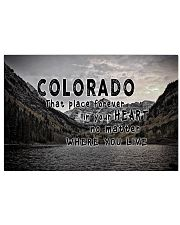 Colorado That Place Forever In Your Heart 17x11 Poster front