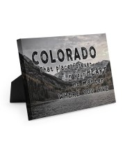 Colorado That Place Forever In Your Heart Easel-Back Gallery Wrapped Canvas tile