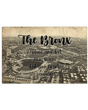 KT0001 The Bronx A Place Your Feet May Leave 17x11 Poster front