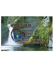 Oregon A Place Your Feet May Leave 17x11 Poster front