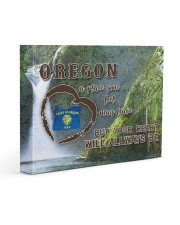 Oregon A Place Your Feet May Leave Gallery Wrapped Canvas Prints tile