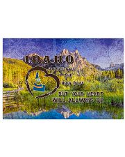 Idaho A Place Your Feet May Leave 17x11 Poster front