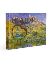 Idaho A Place Your Feet May Leave Gallery Wrapped Canvas Prints tile