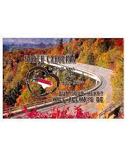North Carolina A Place Your Feet May Leave 17x11 Poster front