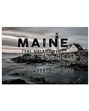 Maine That Place Forever In Your Heart 17x11 Poster front