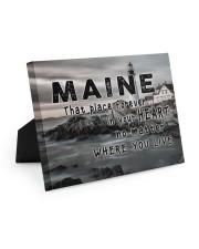 Maine That Place Forever In Your Heart Easel-Back Gallery Wrapped Canvas tile