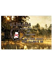Alabama A Place Your Feet May Leave 17x11 Poster front